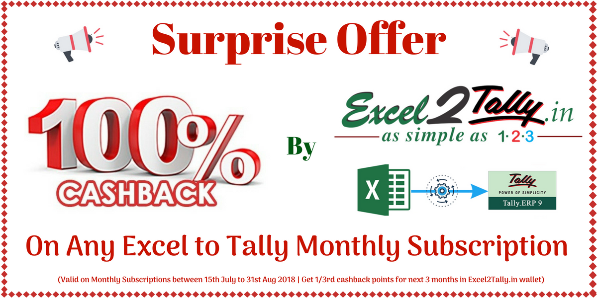 excel2tally